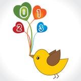 Guten Rutsch ins Neue Jahr 2013 stock abbildung