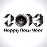 Guten Rutsch ins Neue Jahr 2013 Lizenzfreie Stockfotos
