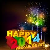 Guten Rutsch ins Neue Jahr Lizenzfreie Stockfotos