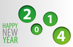 Guten Rutsch ins Neue Jahr 2 Stock Abbildung