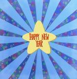 Guten Rutsch ins Neue Jahr lizenzfreie abbildung