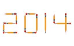 Guten Rutsch ins Neue Jahr Stockfoto