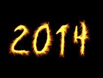 Guten Rutsch ins Neue Jahr Stockbild