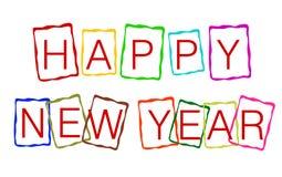 Guten Rutsch ins Neue Jahr stockfotografie