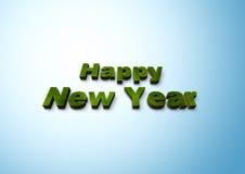 Guten Rutsch ins Neue Jahr Lizenzfreie Stockfotografie