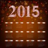 Guten Rutsch ins Neue Jahr - 2015 Lizenzfreies Stockbild