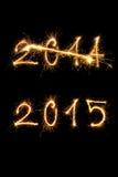Guten Rutsch ins Neue Jahr 2015 Lizenzfreie Stockfotografie