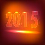 2015 guten Rutsch ins Neue Jahr Lizenzfreies Stockbild