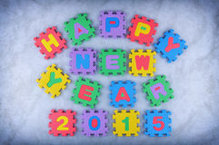 Guten Rutsch ins Neue Jahr 2015 Stockfotografie