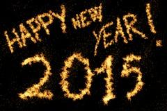 Guten Rutsch ins Neue Jahr! 2015 Lizenzfreies Stockbild