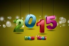 Guten Rutsch ins Neue Jahr 2015 Lizenzfreie Stockbilder