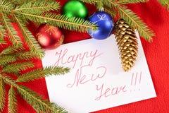 Guten Rutsch ins Neue Jahr!!! Stockbilder