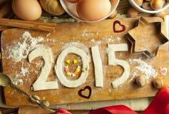 2015 guten Rutsch ins Neue Jahr Stockfotografie