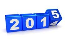 Guten Rutsch ins Neue Jahr 2015 Stockfoto