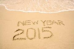 Guten Rutsch ins Neue Jahr 2015 Stockfotos