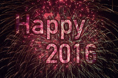 Guten Rutsch ins Neue Jahr 2016 Stockfotos