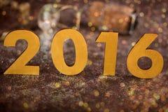 2016 guten Rutsch ins Neue Jahr Lizenzfreies Stockbild
