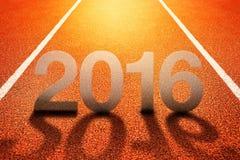 2016 guten Rutsch ins Neue Jahr Lizenzfreie Stockfotografie