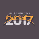 Guten Rutsch ins Neue Jahr - 2017 Stockfoto