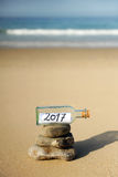 Guten Rutsch ins Neue Jahr 2017 Stockfotos