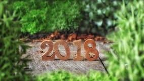 Guten Rutsch ins Neue Jahr 2018 Lizenzfreies Stockbild