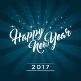 Guten Rutsch ins Neue Jahr 2017 stock abbildung