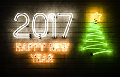 Guten Rutsch ins Neue Jahr 2017 Stockbild