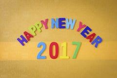 Guten Rutsch ins Neue Jahr 2017 Lizenzfreies Stockbild