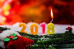 2018 guten Rutsch ins Neue Jahr Stockfoto