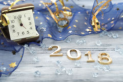 Guten Rutsch ins Neue Jahr 2018 Stockfotografie