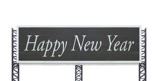 Guten Rutsch ins Neue Jahr auf großem Zeichenbrett Lizenzfreie Stockfotografie