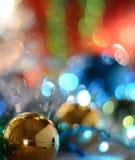 Guten Rutsch ins Neue Jahr 2018 beautuful Feiertag decoratuon Hintergrund Stockbild