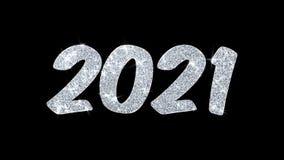 2021 guten Rutsch ins Neue Jahr-Blinkentext-Wunsch-Partikel-Gr??e, Einladung, Feier-Hintergrund