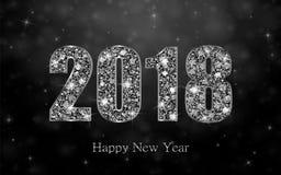Guten Rutsch ins Neue Jahr 2017 Es kann für Leistung der Planungsarbeit notwendig sein Lizenzfreies Stockbild