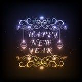 Guten Rutsch ins Neue Jahr-Feierkonzept 2015 Stockfotos