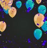 Guten Rutsch ins Neue Jahr-Feiertags-Grußkarte auf Hintergrund mit Ausläufer vektor abbildung