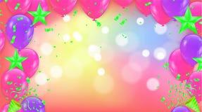 Guten Rutsch ins Neue Jahr-Feiertags-Grußkarte auf Hintergrund mit Ausläufer stock abbildung