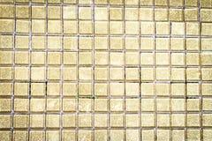 Guten Rutsch ins Neue Jahr-Goldmosaik 2017 Stockfotografie