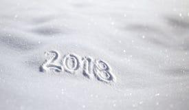 Guten Rutsch ins Neue Jahr-Grußkartenfeier Stockbild