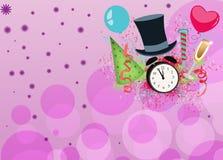 Guten Rutsch ins Neue Jahr-Hintergrund Stockbild