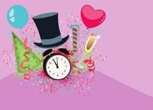 Guten Rutsch ins Neue Jahr-Hintergrund Stockfotos