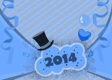 Guten Rutsch ins Neue Jahr-Hintergrund Lizenzfreies Stockbild