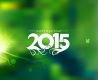 Guten Rutsch ins Neue Jahr-Hintergrund 2015 stock abbildung