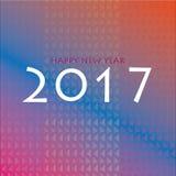 Guten Rutsch ins Neue Jahr-Hintergrund 2017 Lizenzfreie Stockfotos