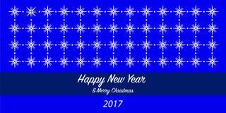 Guten Rutsch ins Neue Jahr-Hintergrund 2017 Lizenzfreie Stockbilder