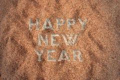 Guten Rutsch ins Neue Jahr-Hintergrund 2017 Stockfoto