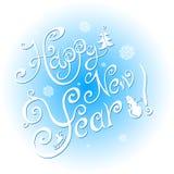Guten Rutsch ins Neue Jahr 2015 - Illustration Lizenzfreie Stockfotografie