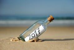 2017 guten Rutsch ins Neue Jahr, Jahr des Hahns Stockfotos