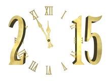 Guten Rutsch ins Neue Jahr 2015 - Konzept Lizenzfreie Stockfotografie