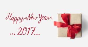 Guten Rutsch ins Neue Jahr-Konzept 2017 Stockfotos
